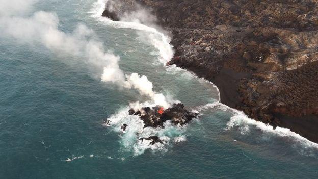 Kilauea volcano: