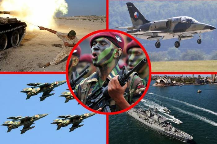 Most powerful Military Forces in the world - PHOTOS