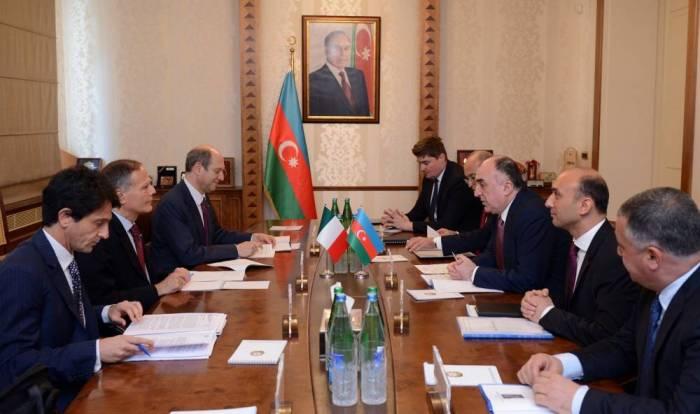 Le dialogue politique et la coopération multilatérale entre l'Azerbaïdjan et l'Italie sont à haut niveau