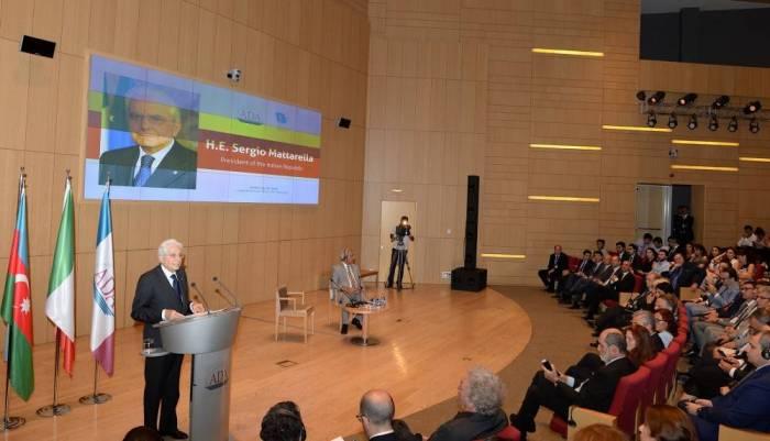 Italy supports peaceful settlement of Nagorno-Karabakh conflict, President Sergio Mattarella
