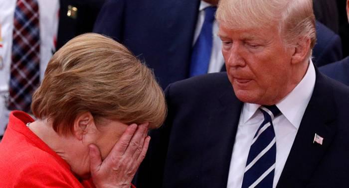 """Trump über Merkel: """"Angela war ein Superstar, bis …"""""""