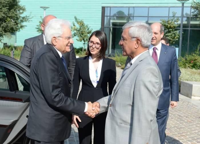 Präsident Sergio Mattarella: Italien ist für eine friedliche Beilegung des Berg-Karabach-Konfliktes