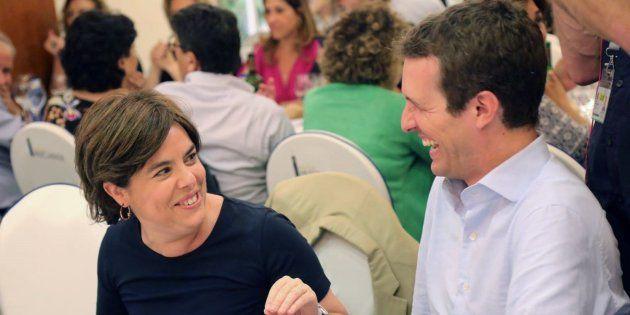 Santamaría y Casado cierran este jueves en Madrid la campaña para el congreso que elegirá al sucesor de Rajoy