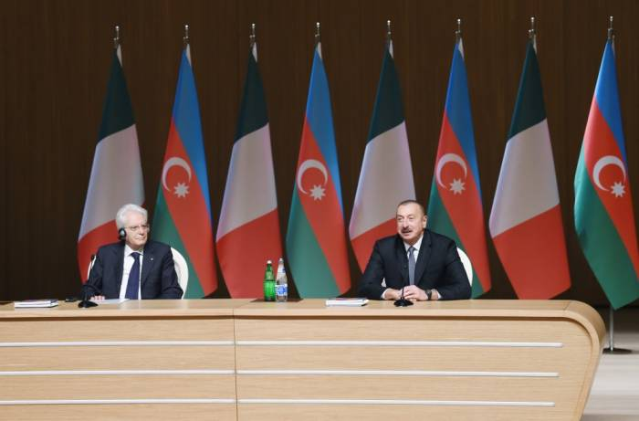 Aserbaidschanisch-italienisches Business-Forum in Baku