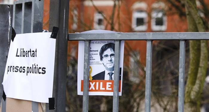 España renuncia a la extradición de Carles Puigdemont