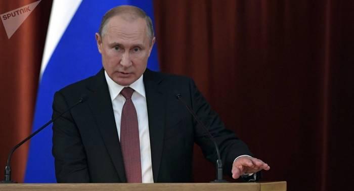 Putin: Rusia dará una respuesta proporcionada a acciones agresivas de la OTAN