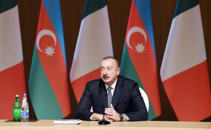 Präsident Aliyev: Ausländische Investitionen in Aserbaidschan auf hohem Niveau geschützt