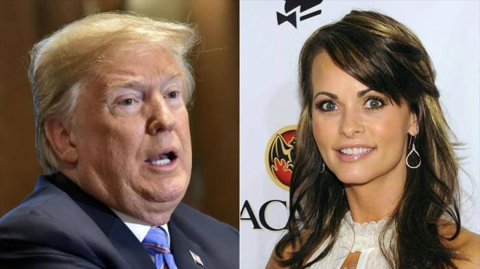 Cohen grabó a Trump discutiendo el pago a exmodelo de Playboy