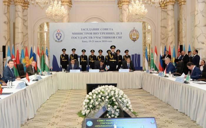 5. Treffen des GUS-Innenministerates in Baku