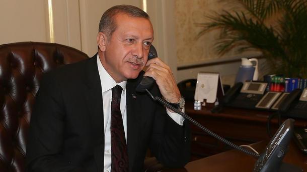 Erdoğan telefoniert mit Dodon