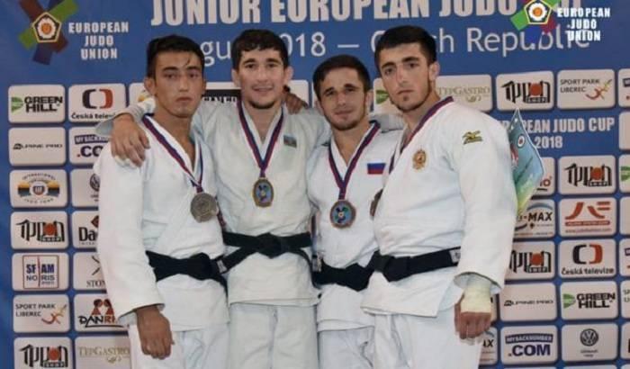 Cüdoçularımız Çexiyada 8 medal qazanıb
