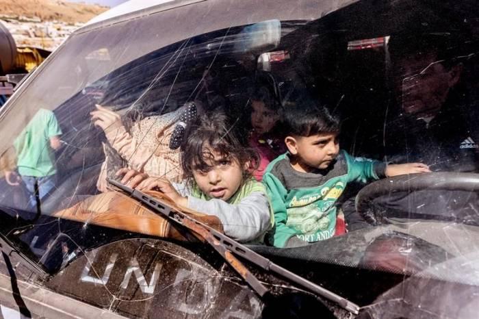 Israel permite la evacuación de desplazados en sur de Siria a terceros países