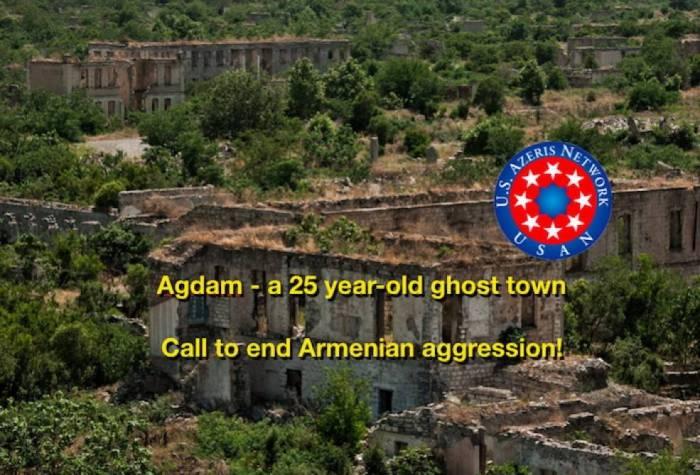 En EE.UU. lanzan campaña sobre la ocupación de Agdam