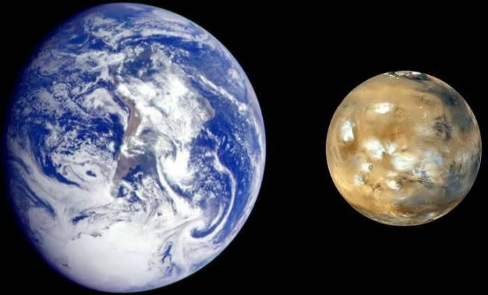 Marsla Yerin böyük qarşıdurması -