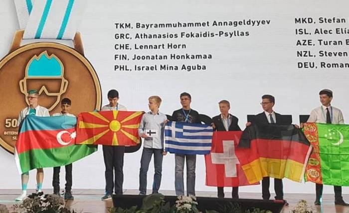 Azərbaycan məktəblilərindən növbəti uğur