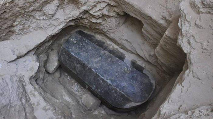Mysterious giant sarcophagus discovered in Egypt