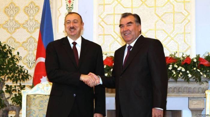 Le président tadjik attendu en Azerbaïdjan