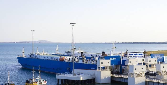 Bakı Limanında konteyner aşırılması 53 faiz artıb