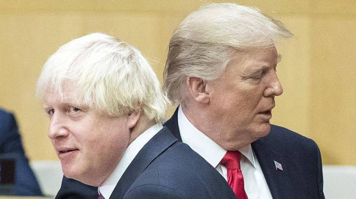 """""""Boris Conson mənim dostumdur"""" - Tramp"""