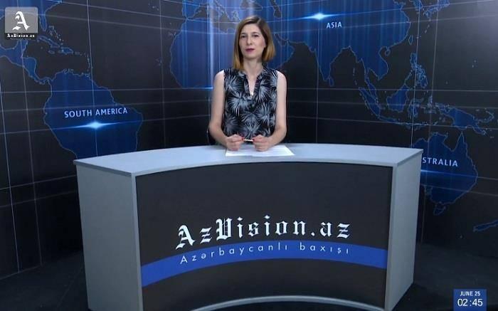 AzVision TV:Die wichtigsten Videonachrichten des Tages aufEnglisch(03 Juli)-VIDEO