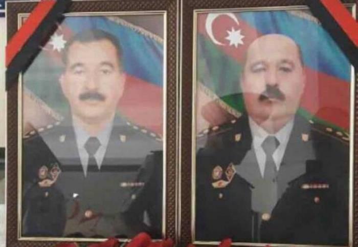 Şəhid polislər dəfn olundu - (VİDEO)