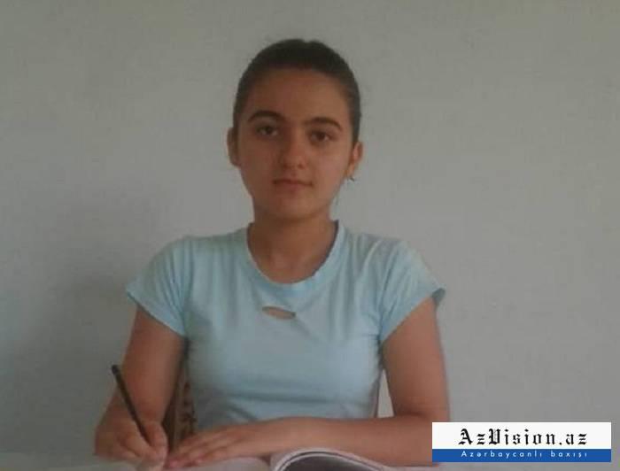 """700 bal toplayan kənd qızı: """"Məktəbimiz qəzalı vəziyyətdədir"""""""