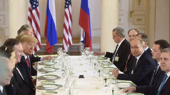 ABŞ-Rusiya geniştərkibli görüşü başladı