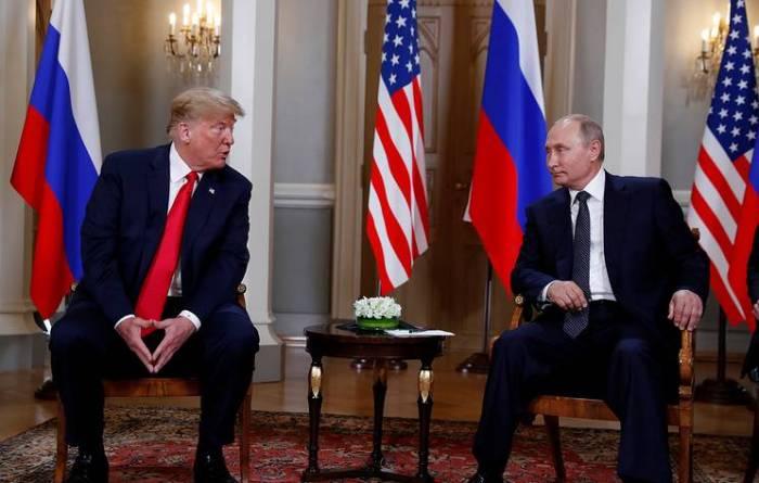 Putinlə Tramp arasında kritik görüş - Yenilənib (VİDEO)