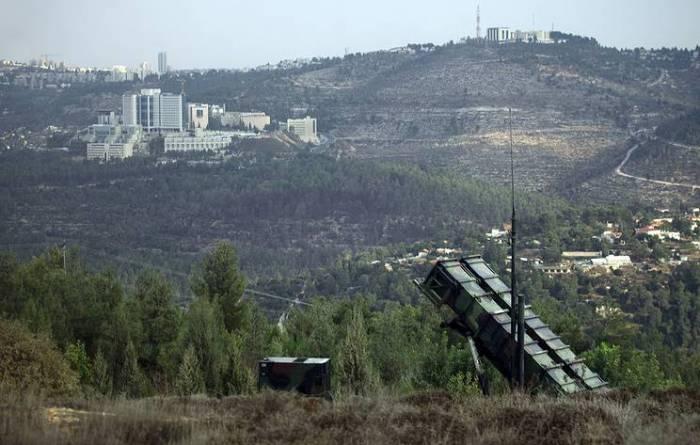 """İsrail Suriya təyyarəsini """"Patriot""""la vurdu"""