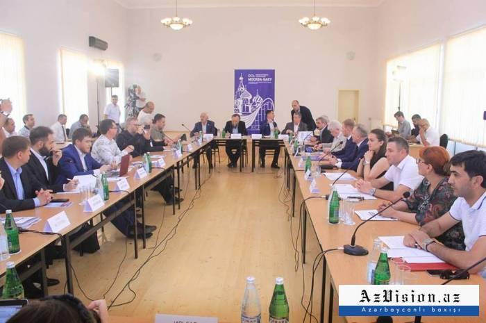 Jojug Marjanli hosts 'Azerbaijan - Russia