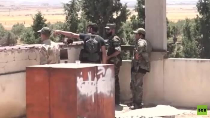 """دمشق: إسرائيل تساند مسلحي """"النصرة"""" ناريا في محيط القنيطرة"""