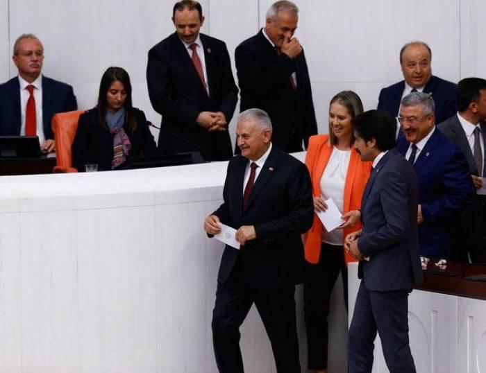 Former PM Yıldırım elected as speaker of Turkey's parliament