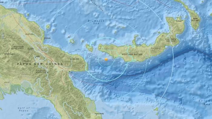 Un sismo de magnitud 5,8 sacude Papúa Nueva Guinea