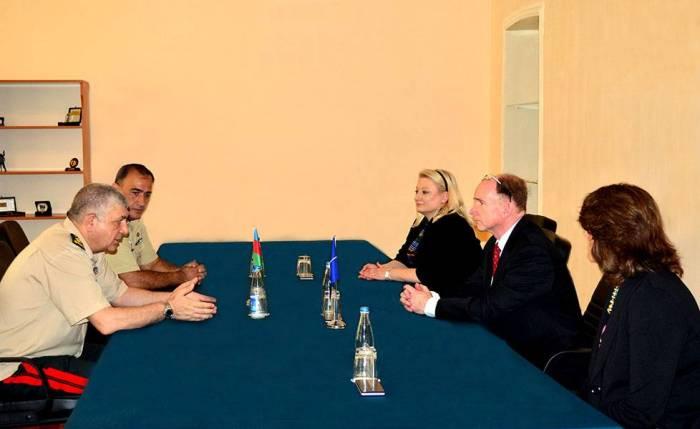 Bakıda NATO-nun ekspertləri ilə görüş keçirilir