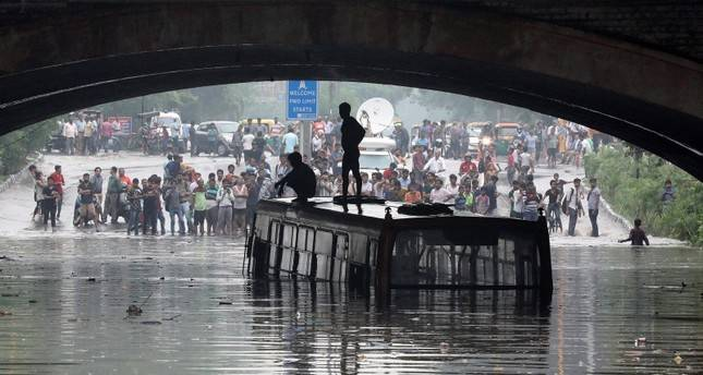 Floods, landslides kill 511 in India's monsoon season