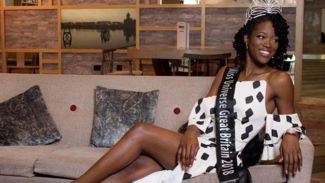 تتويج أول امرأة سمراء البشرة بلقب ملكة جمال بريطانيا