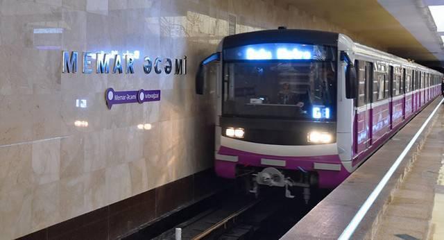 Metroda qatarların hərəkəti bərpa olunub