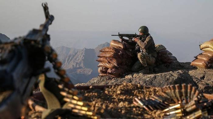 """تحييد إرهابيين اثنين من """" بي كا كا"""" جنوب شرقي تركيا"""