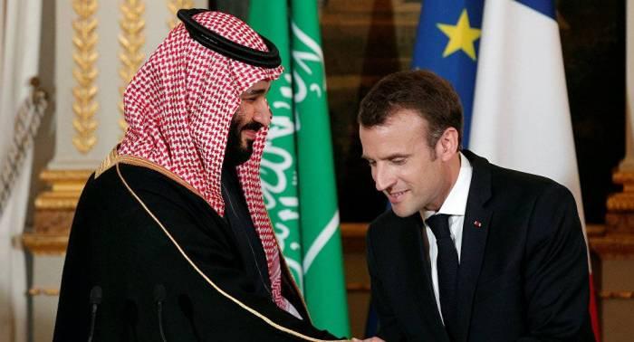محمد بن سلمان يوقع اتفاقية مع فرنسا
