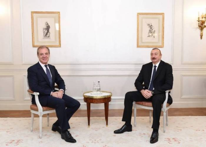 President Ilham Aliyev meets with chairmanand CEO of CIFAL Group