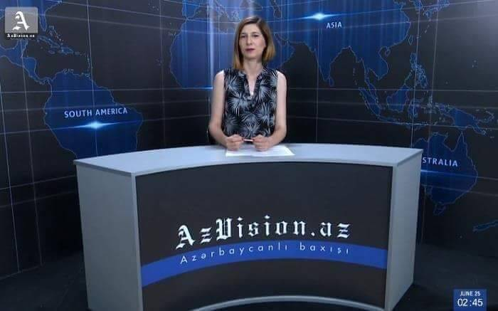 AzVision TV:Die wichtigsten Videonachrichten des Tages aufEnglisch(09Juli)-VIDEO