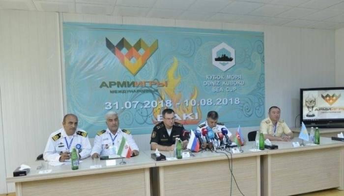 Azerbaijan says Sea Cup 2018 aims to strengthen peace in Caspian region