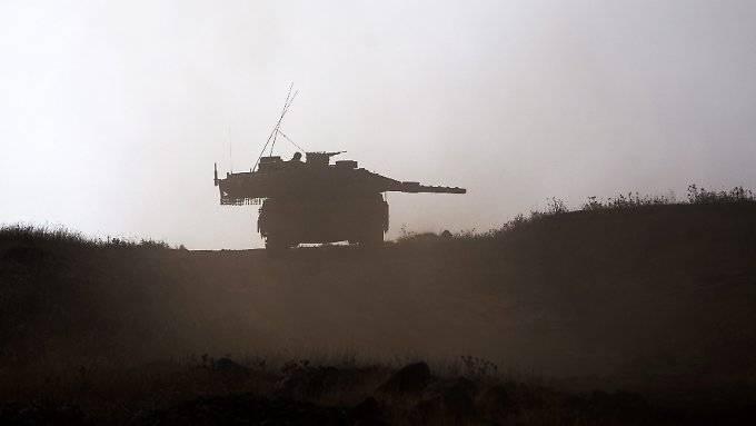 Israel entwickelt neuen Merkava-Panzer