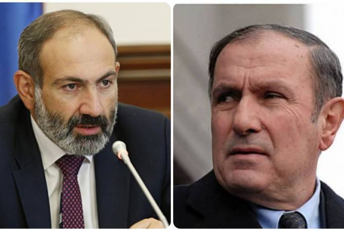 Armenia PM  and First President meet