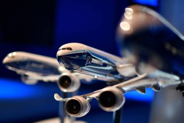 Boeing estime à 15.000 milliards de dollars le marché des avions commerciaux d