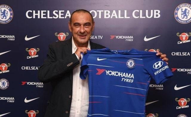 Football:Maurizio Sarri nommé entraîneur de Chelsea