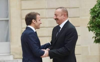 El presidente Ilham Aliyev completa la visita a Francia