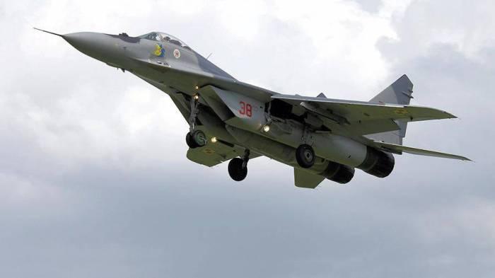 Polşada MiQ-29 qəzaya uğradı