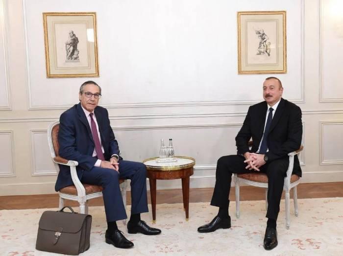 President Ilham Aliyev meets Executive VP of BTP company