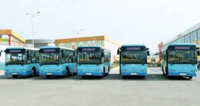 Naxçıvanda yeni avtobuslar istifadəyə verilib